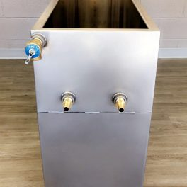 Stainless Steel fabricated water jacketed tank