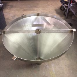 FORMED STAINLESS HOPPER