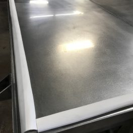 SILO MIXING BIN TOP COVER WITH FLANGE