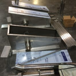 STAINLESS HOPPER TRANSITIONS
