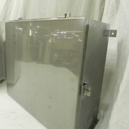 STAINLESS STEEL ENCLOSURE (1)