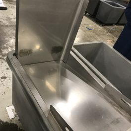 STAINLESS TOTE STOP