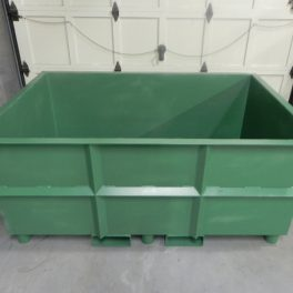 STEEL BOX FOR MATERIAL HANDLING