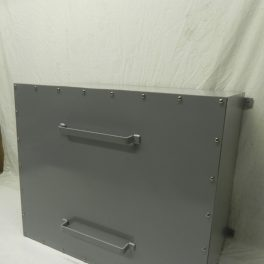 STEEL SCREW COVER DOOR ENCLOSURE