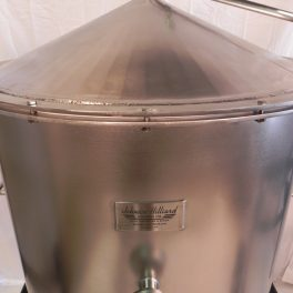 100 GALLON STAINLESS STILL AND CONDENSER