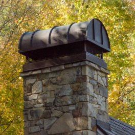 custom chimney cap fabrication