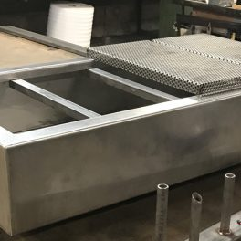 FABRICATION OF CUSTOM HOOD GRILL