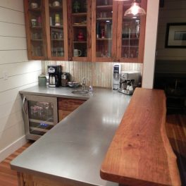 RESIDENTIAL STAINLESS STEEL COUNTERTOP