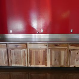 Stainless Counter top