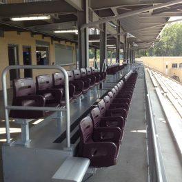 aluminum box seating for stadium