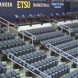 anodized aluminum stadium railing