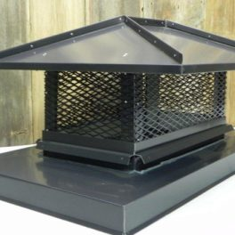 custom chimney cap fabrication