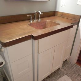copper bathroom VANITY