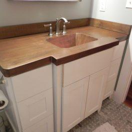 copper bathroom VANITY