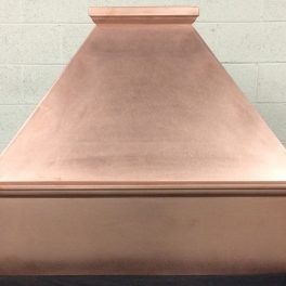 copper hood with no patina