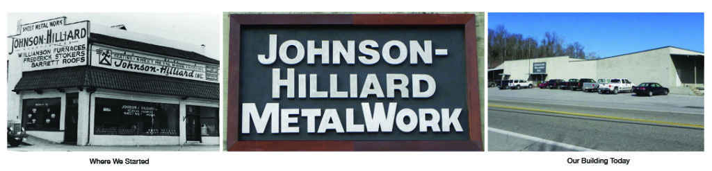 Johnson Hilliard, custom metal fabrication for industrial and architectural projects