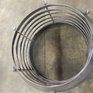Custom Design: Steel Louver